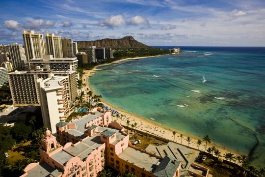미서부와 하와이 11일