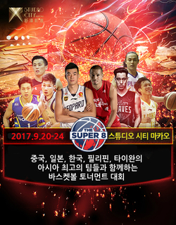 [농구 아시아 리그 토너먼트 경기 관람]