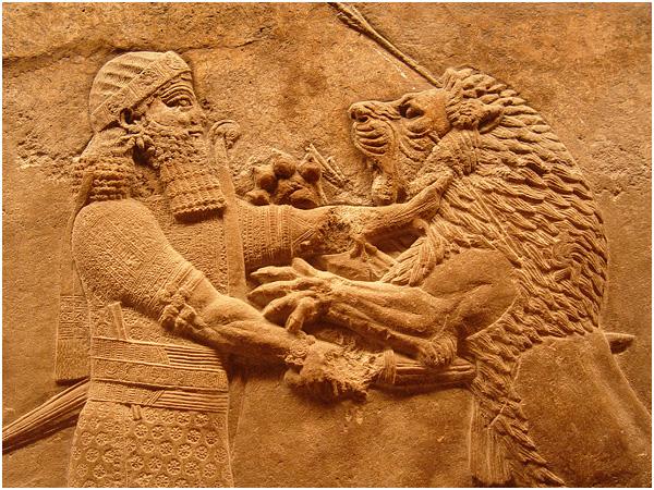 런던_대영박물관 앗시리아 관
