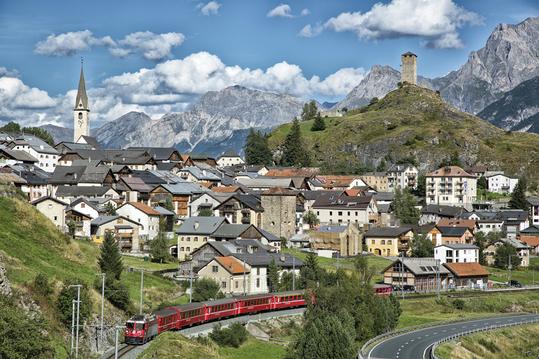 스위스 기차