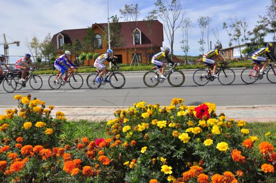 [Lucky day][자전거][연합][자전거] 백두산 북파 & 압록강 자전거 라이딩 6일