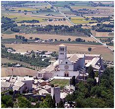 성프란체스코 성당과 아씨시 풍경
