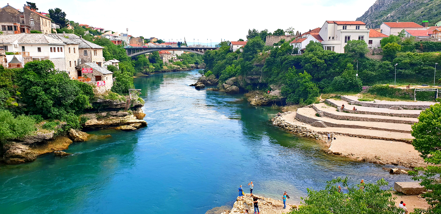 보스니아 모스타르 다리