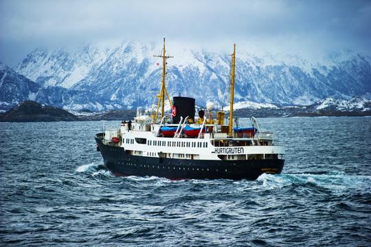 후티루튼 MS Nordstjernen 크루즈 외관 2