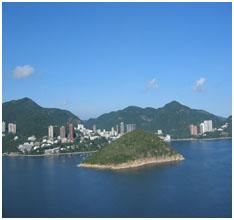 홍콩 - 해양공원에서 바라본 전경