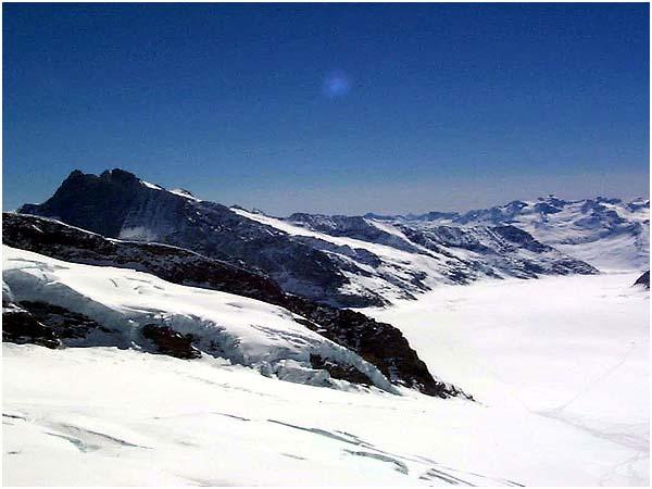 융프라우요흐 알레치 빙하