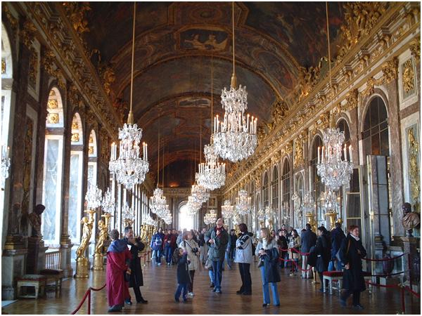 베르사이유 궁전 - 거울의 방