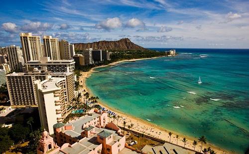 [항공+호텔] 하와이 6,7일<BR>일급, 준특급호텔
