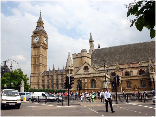 런던_빅벤과 국회의사당