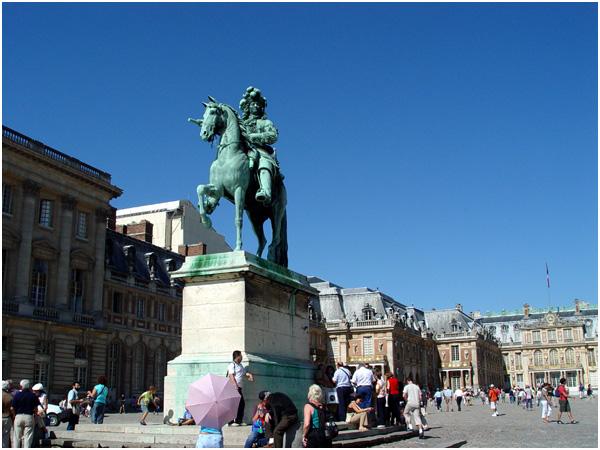 베르사이유_베르사이유 궁전 루이 14세 기마상